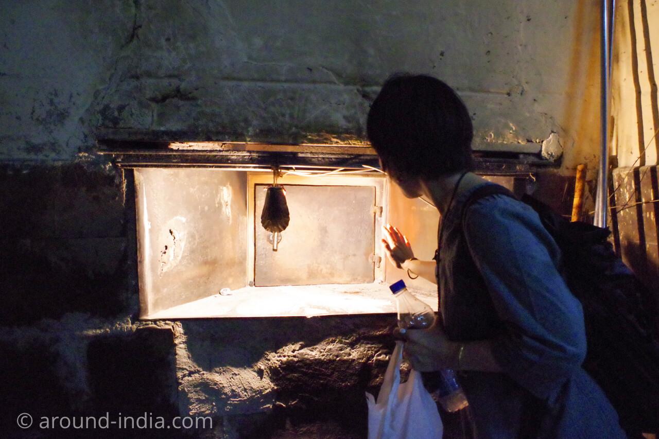 Yazdani bakeryのパンを焼く薪窯