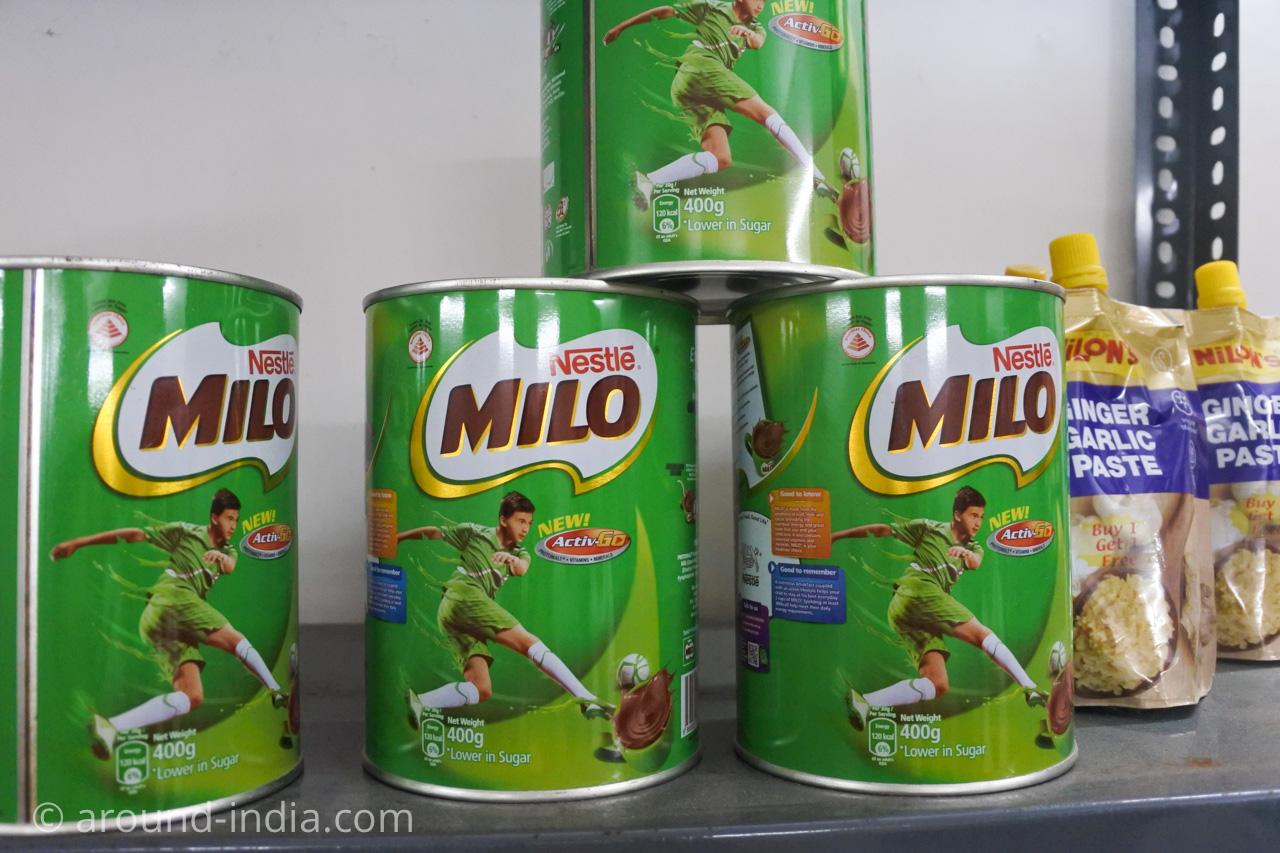 デリーINAマーケットのアフリカ食材店Mamma Africa ミロ・マイロ
