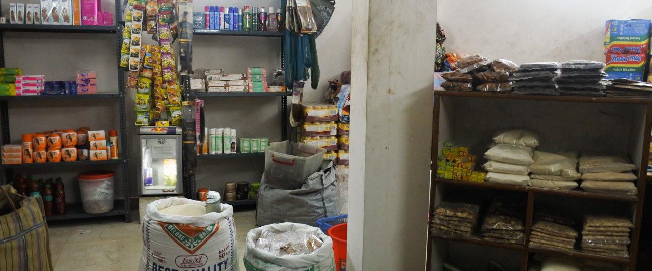 デリーINAマーケットのアフリカ食材店Mamma Africa