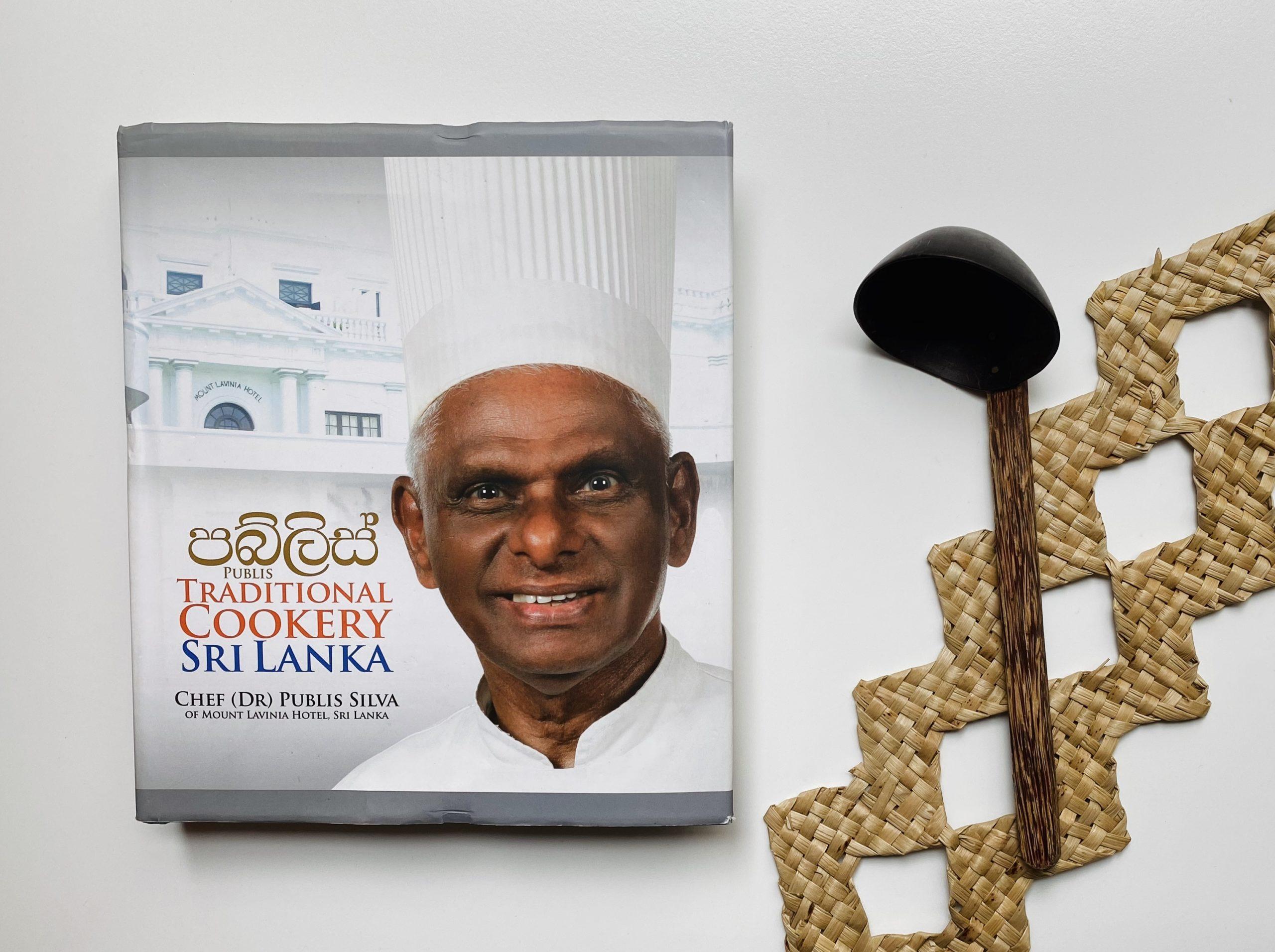 本:まるで辞書なスリランカ料理レシピ集「PUBLIS Traditional Cookery Sri Lanka」
