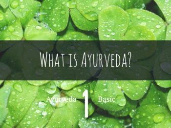アーユルヴェーダの基本:アーユルヴェーダとは?